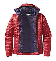 Patagonia Nano Puff - giacca con cappuccio trekking - uomo, Red