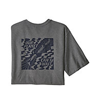 Patagonia Our Planet Can't Wait - T-Shirt - Herren, Grey