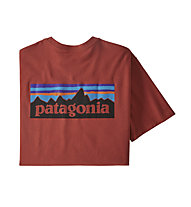 Patagonia M´s P-6 Logo Responsibili-Tee® - T-Shirt - Herren, Light Red