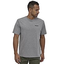 Patagonia M´s P-6 Logo Responsibili-Tee® - T-Shirt - Herren, Grey