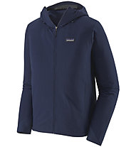 Patagonia M's R1® TechFace Hoody - Jacke mit Kapuze - Herren, Dark Blue