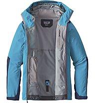 Patagonia M's Refugative Jacket Giacca Hardshell, Blue