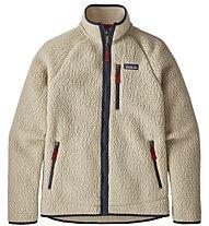 Patagonia Retro Pile - giacca in pile - uomo, White