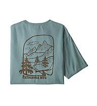Patagonia Roam the Dirt - t-shirt - uomo, Light Blue
