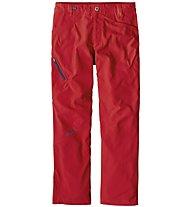 Patagonia Rock - Pantaloni lunghi arrampicata - uomo, Red