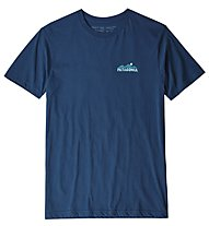 Patagonia The less you need organic - T-Shirt - Herren, Blue