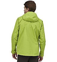 Patagonia Torrentshell 3L - giacca hardshell con cappuccio - uomo, Light Green