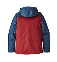Patagonia M's Torrentshell - Hardshelljacke Trekking - Herren, Blue/Red