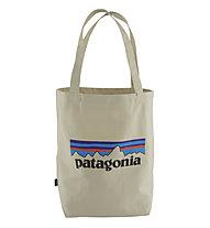 Patagonia Market Tote - borsa portatutto, Light Beige/Blue/Black