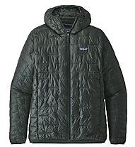 Patagonia Micro Puff - giacca con cappuccio - uomo, Dark Green