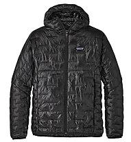 Patagonia Micro Puff - giacca con cappuccio - uomo, Black