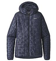 Patagonia Micro Puff - giacca con cappuccio trekking - donna, Dark Blue