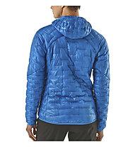 Patagonia Micro Puff - giacca con cappuccio trekking - donna, Light Blue