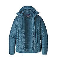 Patagonia Micro Puff - giacca con cappuccio trekking - donna, Blue