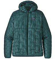Patagonia Micro Puff - giacca con cappuccio - uomo, Green