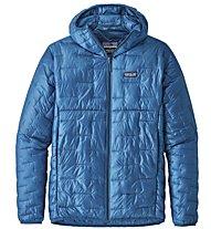 Patagonia Micro Puff - giacca con cappuccio - uomo, Light Blue