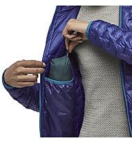 Patagonia Micro Puff - Hybridjacke mit Kapuze - Damen, Violet