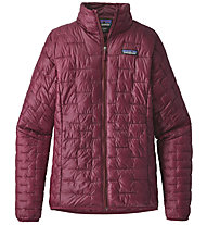 Patagonia Micro Puff - giacca trekking - donna, Red