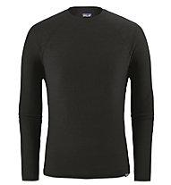 Patagonia Ms Capilene Air Crew - maglietta tecnica a maniche lunghe - uomo, Black