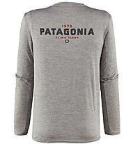 Patagonia Ms Capilene Daily Long Sleeved Herren Wandershirt langärmelig, Grey
