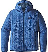 Patagonia Nano Puff - Giacca con cappuccio trekking - uomo, Light Blue