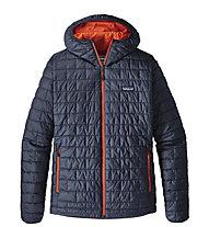 Patagonia Nano Puff - giacca con cappuccio trekking - uomo, Blue