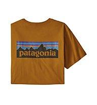 Patagonia P-6 Logo Organic - T-shirt - uomo, Yellow