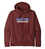 Patagonia P-6 Logo Uprisal Hoody - Kapuzenpullover - Herren, Dark Red