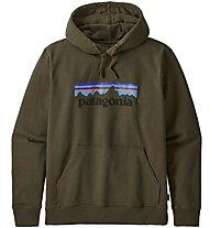 Patagonia Ms P-6 Logo Uprisal Hoody - Kapuzenpullover - Herren, Green