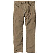 Patagonia Ms Straight Fit cords - pantaloni trekking - uomo, Brown