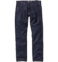 Patagonia Ms Straight Fit Jeans Pantaloni Lunghi, Blue