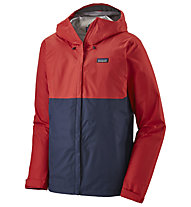 Patagonia Torrentshell 3L - giacca hardshell con cappuccio - uomo, Red