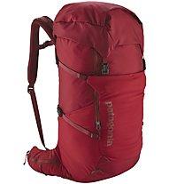 Patagonia Nine Trails Pack 36L - zaino alpinismo e arrampicata, Red