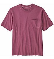Patagonia Organic Cotton Midweight Pocket - T-shirt - Herren, Pink