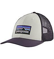 Patagonia P-6 Logo LoPro - Schirmmütze, White/Violet