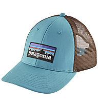 Patagonia P-6 Logo Lopro Trucker - Schirmmütze Wandern, Blue/Brown