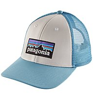 Patagonia P-6 Logo Lopro Trucker - cappellino, Light Blue
