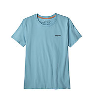 Patagonia P-6 Logo Organic Crew - T-shirt - donna, Blue