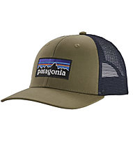 Patagonia P6 Trucker - cappellino - uomo, Green/Blue