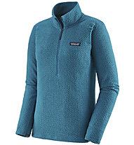 Patagonia R1 Air Zip-Neck - Fleecepullover - Damen, Light Blue