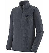 Patagonia R1 Air Zip-Neck - Fleecepullover - Damen, Dark Blue