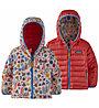 Patagonia Reversible Down Sweater Hoody - Daunenjacke - Kinder, Red/Rose