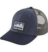 Patagonia Shop Sticker Patch Trucker - Schirmmütze - Herren, Blue