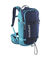 Patagonia SnowDrifter 30L - zaino da scialpinismo/freeride, Navy Blue