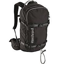 Patagonia SnowDrifter 30L - zaino da scialpinismo/freeride, Black