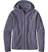Patagonia Better Sweater - Giacca in pile con cappuccio trekking - donna, Blue