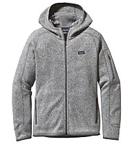 Patagonia Better Sweater - Giacca in pile con cappuccio trekking - donna, Grey