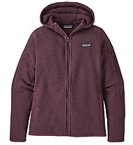 Patagonia Better Sweater Hoody - giacca in pile con cappuccio - donna, Light Blue