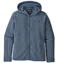 Patagonia Better Sweater Hoody - giacca in pile con cappuccio - donna, Dark Red