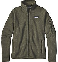 Patagonia W's Better Sweater Jacket Giacca in Pile Donna, Green